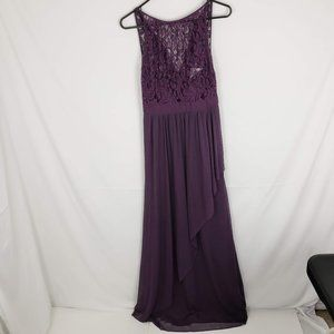 New Adrianna Papell Lace Chiffon Prom Evening Gown